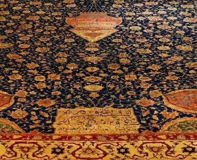فرش در دربار آلبرت