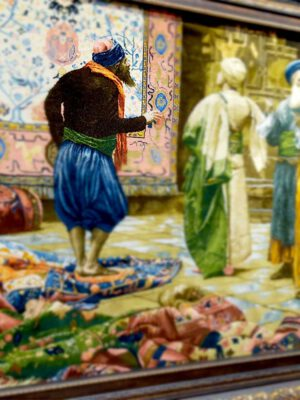 تابلو بازار مصر